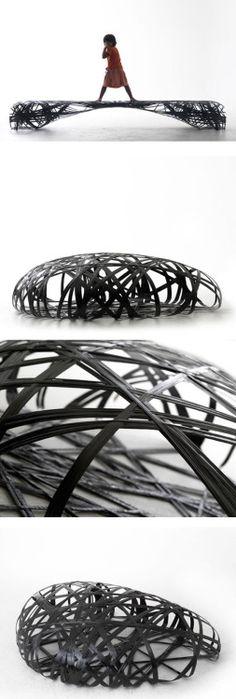 Carbon-fibre seats (Peter Donders)