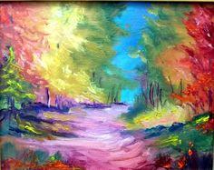 Gail Grant plein air Impressionism oil painting landscape original signed new #Impressionism