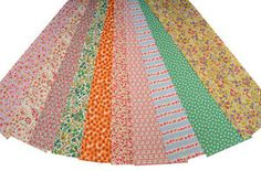 "Quilt Jelly Roll 2 1//2/"" 20 Strips Retro Pink Beige English Flower Garden Roses"