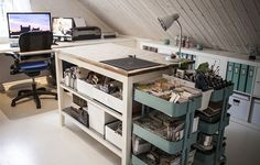 Stenstorp kitchen island as cutting table - yessss