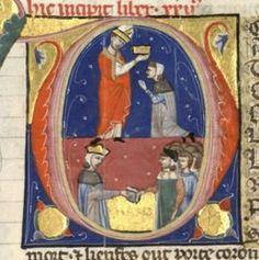 Serment des barons à Baudouin IV.