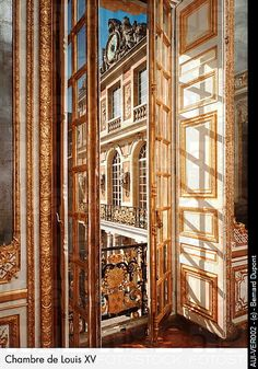 Palace of Versailles - Chambre de Louis XV. The Hero is not intimidated by the grandeur of a king's palace. Far from it. In fact, the Hero is never intimidated. Always remarkably comfortable, he can be suave, debonair, and urbane.