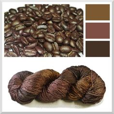 Color ideas... Dyeing with coffee