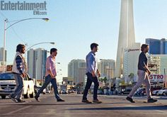 EW revealed the first official photos of The Hangover 3 with Bradley