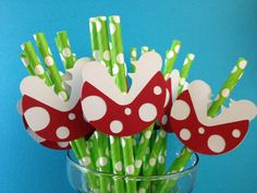 Super Mario Brothers Party Piranha Plant Paper by CharminglySassy