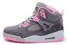 pink jordans  | Women's Air Jordan Spizikes 3.5 Grey Pink [Women's Air Jordan 3 4] - $ ...