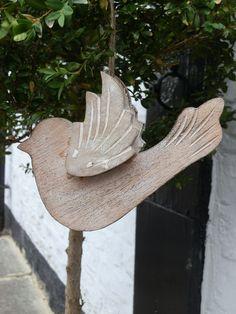 Wooden bird decoration #garden #decoration #bird