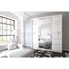 Skříň lisabon ii bílý Oversized Mirror, Furniture, Home Decor, Decoration Home, Room Decor, Home Furnishings, Home Interior Design, Home Decoration, Interior Design