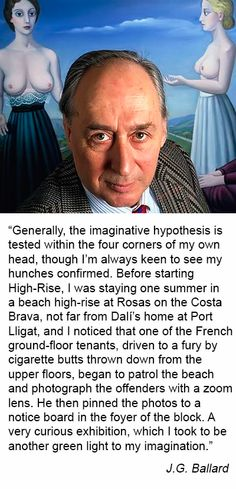 J.G. Ballard on High-Rise. Source: Paris Review http://www.theparisreview.org/interviews/2929/the-art-of-fiction-no-85-j-g-ballard?utm_content=buffer228bf&utm_medium=social&utm_source=twitter.com&utm_campaign=buffer