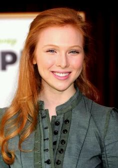 Molly Quinn - previously unknown to me but she looks like how I imagine Rilla Blythe