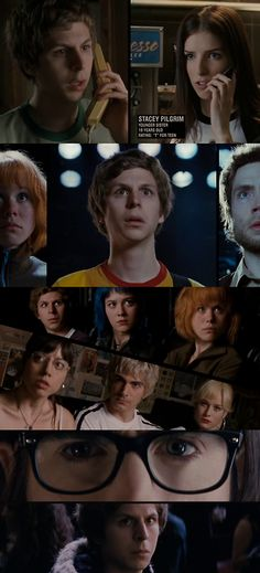 Scott Pilgrim vs. The World. I had to watch this movie again last night because, I hadn't seen it in like four months. I love it! :)