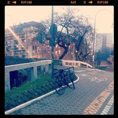 Milano #cycletherapy #LaMiaBambina #biketowork