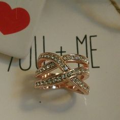 Ring 2015 Summer Fashion Jewelry Punk 18K rose gold ring, Austrian crystals jewelry rings women. size 9,8,6 Jewelry Rings