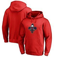 #Fanatics.com - #Fanatics Branded New Orleans Pelicans Fanatics Branded Alternate Logo Pullover Hoodie - Red - AdoreWe.com