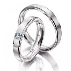 9a3e0014425 Matching Wedding White Gold Diamond Wedding Bands