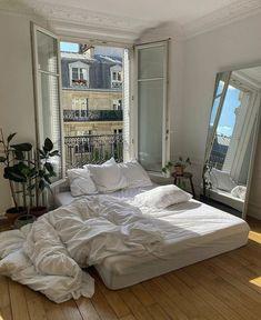 Dream Rooms, Dream Bedroom, Master Bedroom, Bedroom Bed, White Bedroom, Bed Room, Room Ideas Bedroom, Bedroom Decor, Bedroom Signs
