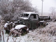 Snowy Old Truck royalty free stock images Abandoned Belgium, Truck Covers, Old Trucks, Antique Cars, Royalty, Free, Image, Vintage Cars, Royals