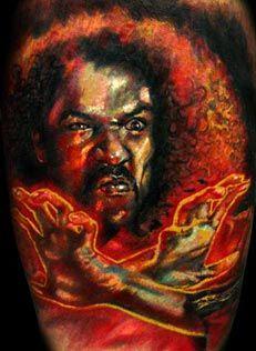 Sho'nuff Tatoo by Stefano Alcantara http://www.tattoogathering.com/tattoos/Stefano_Alcantara/tattoos_33082.html