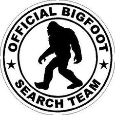 Bigfoot / Sasquatch OFFICIAL Bigfoot Search by MountainGraphics, $5.00