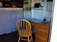 Shed Shed Organization, Corner Desk, Furniture, Home Decor, Corner Table, Decoration Home, Room Decor, Home Furnishings, Home Interior Design