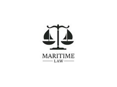 This introduces 'Law' as a job in the maritime industry. This design is special as the ships are used to represent fairness and justice, values in the law industry mixed with the maritime industry. Logos, Typography Logo, Logo Branding, Corporate Branding, Lawyer Logo, Law Firm Logo, Logo Restaurant, Logo Design Inspiration, Identity Design