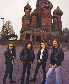 My (American expat) husband made his way backstage when they played in Moscow, just right before he and I met. Metallica Black Album, Back In The Ussr, Rock Of Ages, James Hetfield, Def Leppard, Music Stuff, Rock N Roll, Heavy Metal, Firebird