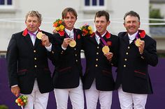 Equestrian - jumping team - GOLD FOR TEAM GB!!!!