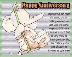 A quirky card for your husband on your anniversary. Free online Lucky To Have Me ecards on Anniversary Happy Anniversary, Anniversary Cards, Lucky To Have You, Told You So, I Fall In Love, Falling In Love, Happy Song, Happy Together, Now And Forever
