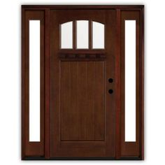 1000 images about entry doors on pinterest entry door for Home depot exterior doors with sidelights