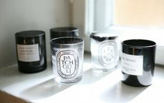 diptyque candles #black #white