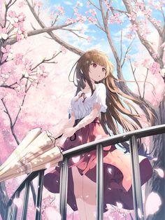 Anime Neko, Kawaii Anime Girl, Pretty Anime Girl, Cool Anime Girl, Kawaii Art, Anime Love, Manga Anime Girl, Anime Girl Drawings, Cute Drawings