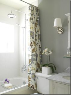 small and compact like my bathroom.. if only my bathroom looked this nice..