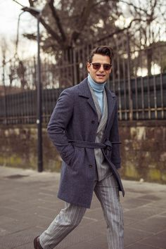 The Best Street Style From Pitti UomoEsquire Uk Chuck Bass, Modern Gentleman, Gentleman Style, Cool Street Fashion, Street Style, Korean Fashion, Mens Fashion, Pitta, Adidas Outfit