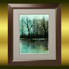 Art++Digital+Painting+++Contemporary+Art+Tree+Print++by+RusticGoth,+$17.00