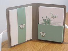 CraftyCarolineCreates: Gorgeous Grunge meets Papillon Potpourri Note Card Gift Set Tutorial.