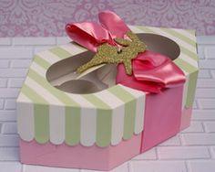 Easter Cupcake Gift Box #easter #packagedgoods #cutedesign