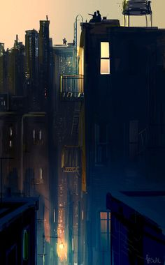 Kai Fine Art is an art website, shows painting and illustration works all over the world. Illustrations, Illustration Art, Pascal Campion, Nocturne, Storyboard, Amazing Art, Fashion Art, Fantasy Art, Cool Art