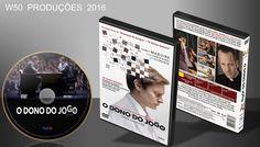 O Dono Do Jogo - DVD1 - ➨ Vitrine - Galeria De Capas - MundoNet | Capas & Labels Customizados