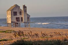 The Beach in Nags Head, NC by mikelynaugh, via Flickr