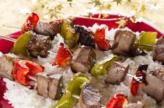 Camping Recipe:  Shish Kebabs