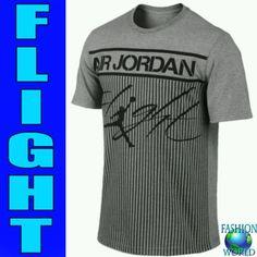 huge selection of fc43f 5f12b NWT NIKE Air Jordan Colossal Flight Tee Size 2XL GREY BLACK,  729434 063