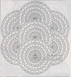 ленточное кружево 27 - схема вязания