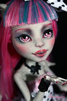 "Monster High Rochelle Goyle ""Sweet and Chic"" Repaint OOAK Custom Doll by Maigune   eBay"