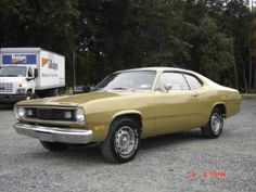 1972 Plymouth Duster...My very first car, how I loved it !