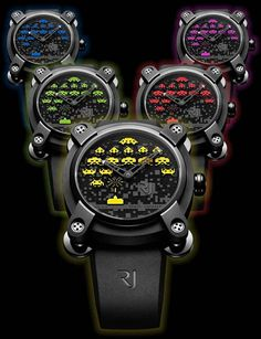 RJ Romain Jerome Space Invaders Watch Collection