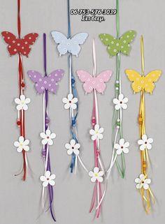ΥΦΑΣΜΑΤΙΝΑ :: κρεμαστές πεταλούδες - Ylika-gamou.gr