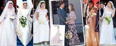 Foto: Marie-Chantal, Máxima o Beatrice: Valentino se corona el costurero nupcial de la realeza