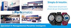 O nouă premieră pe piața soluțiilor de plată a taxei de parcare. #Parkomatic este singurul brand din România care introduce Plata Taxei de Parcare direct de pe Smartwatch-ul Garmin.   Pentru mai multe detalii despre cum funcționează această inovație, vă invităm să accesați site-ul nostru Smartwatch, Park, Smart Watch