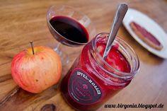 birgonia: Apfel-Holunderbeeren-Konfitüre mit Vanille