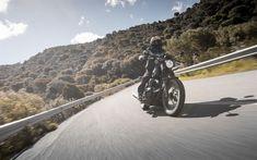 Download wallpapers Yamaha SCR950 Scrambler, superbikes, 2017 bikes, road, biker, new SCR950, Yamaha